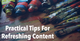 Guidelines for periodically updating your content article