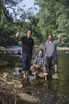 Brewers in river article