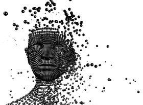 Disintegrating face article