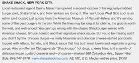 Fodors shake shack article