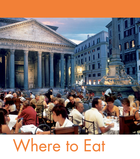 Fodors rome 2009 guide dining article