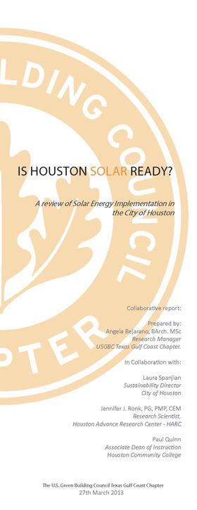 Is houston solar ready 1 article