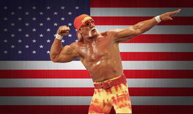 Hulk hogan usa flag article