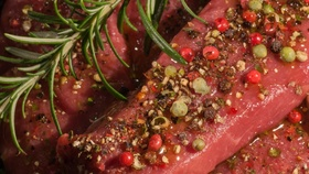 Marinating meat article