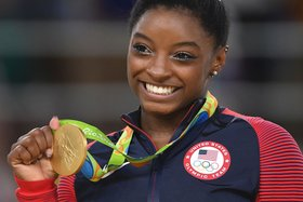 Simone biles 5 gold article