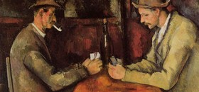 Card players paul cezanne 0 article