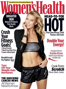 Karlie kloss cover womens health article