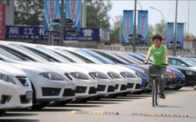 Car sales in china article