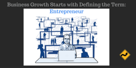 Business growth starts with defining the term  entrepreneur article
