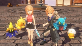 World of final fantasy article