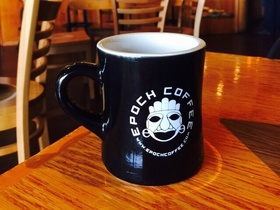Epoch coffee cup 092703 article
