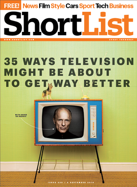 Tv cover article