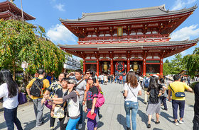 Sensoji selfie article