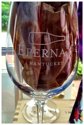 Epernay glass article