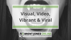 V is for visual  video  vibrant and viral article