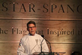 Rick bayless accepting award article