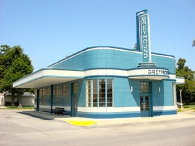 Blytheville greyhound bus station article