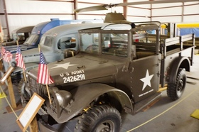 Arkansas air and military museum jeep article