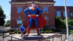 Superman statue article
