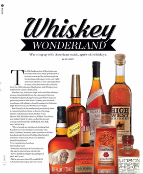 Snow bottle whiskey wonderland 1 article