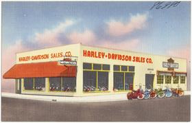 Harley davidson sales co article