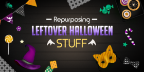 What to do with leftover halloween stuff article