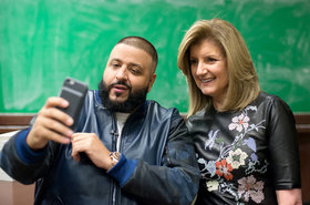 Dj khaled ariana huffington 2016 billboard 1548 article