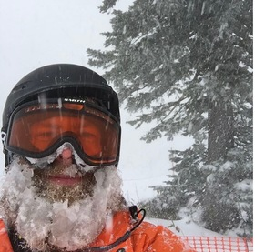 Powder day  icy beard article