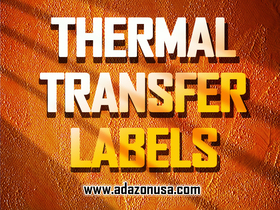 Thermal transfer labels article
