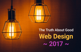 Truth about web design 2017 article