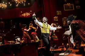 119738   josh groban and the cast of natasha  pierre   the great comet of 1812   photo by chad batka article