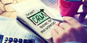 Crm for small business blog art article