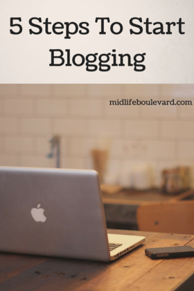 Take these 5 steps and start blogging article