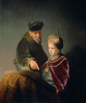 Rembrandt harmensz. van rijn   a young scholar and his tutor   google art project article