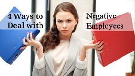Business woman binders negative employee angry annoyed pm article