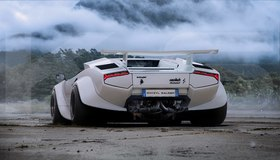 British pixel artist comes up with a creative rendering of a lamborghini countach with hurricane taillights article