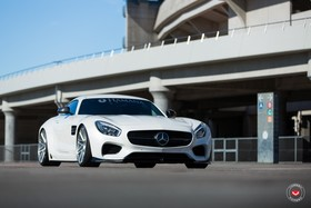 Hamana widens mercedes amg gt and installs a new set of vossen wheels article