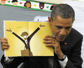 Obama show and tell article