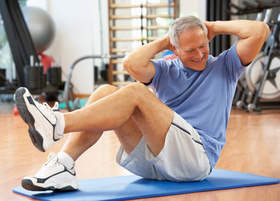 Elderly fitness article