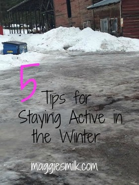 Staying active in winter article