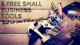 5 free small business tools article