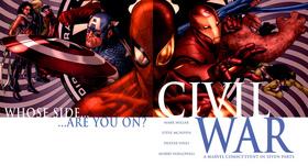 Civil war comic review article