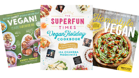 Collage vegan books article
