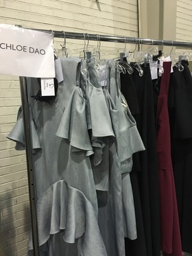 Chloe dao collection backstage at fashion x houston article