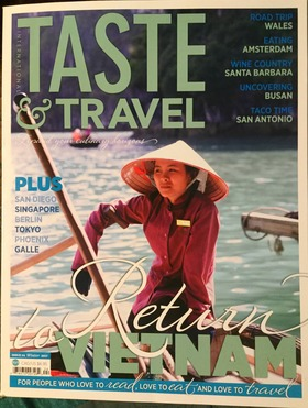 Taste   travel winter 2017 article