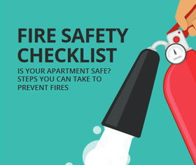 Fire safety article