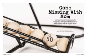 Gone missing article