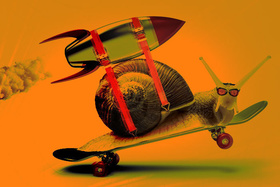 Snail rocket fast speed 100709490 large article