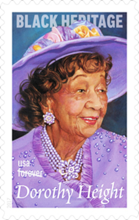 Dorothy height stamp article