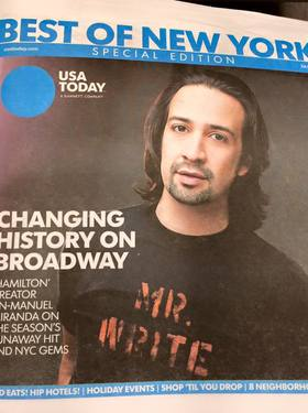 Usa today cover article